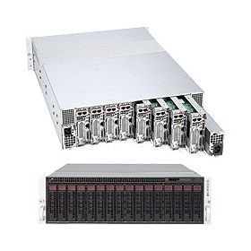 Supermicro 3U MicroCloud 5037MC-H8TRF Black