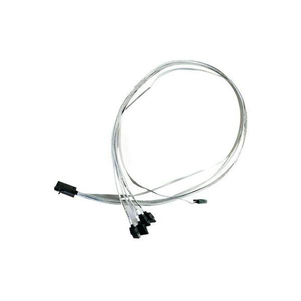 Adaptec Multilane Breakout Cable, ACK-I-HDmSAS-4SATA-SB-.8M
