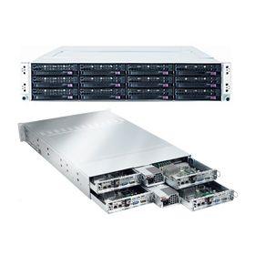 Supermicro 2U Superserver SYS-6026TT-HIBQRF Black
