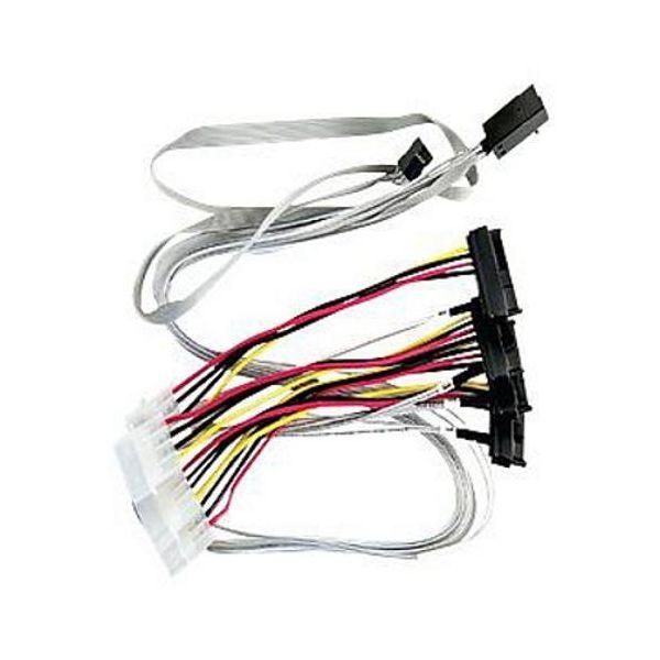 Adaptec Multilane Breakout Cable, ACK-I-HDmSAS-4SAS-SB-.8M