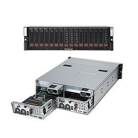 Supermicro 3U Superserver SYS-6036T-3R Black
