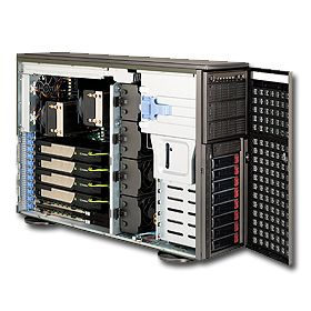 Supermicro 4U Superserver 7046GT-TRF-TC4 Black