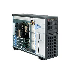 Supermicro 4U Superserver 7046-H6R Black