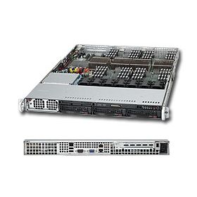 Supermicro 1U Superserver 8016B-6F Black