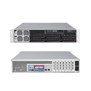 Supermicro 2U Superserver 8025C-3RB Black