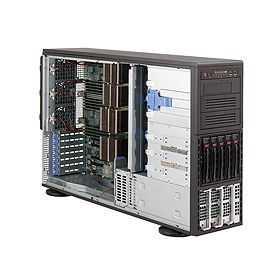 Supermicro 4U Superserver 8046B-6RF Black