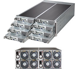 Supermicro MB-X10DRFF CSE-F418IL-R1K62BP