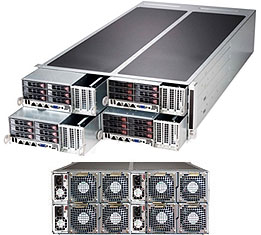 Supermicro FatTwin Superserver SYS-F627G2-FTPT+