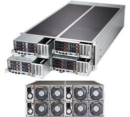Supermicro FatTwin Superserver SYS-F627R2-F72PT+