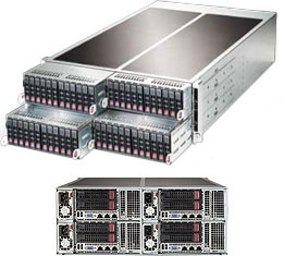 Supermicro FatTwin Superserver SYS-F627R2-RTB+