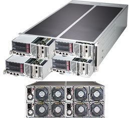 Supermicro FatTwin Superserver SYS-F627R3-F72PT+