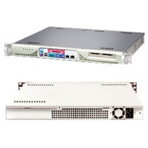 "Supermicro 1U 1x 3.5"" Fixed Drive Bay SuperServer 513F-260"