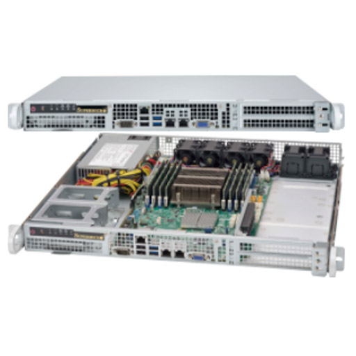 "Supermicro 1U 4x 2.5"" Fixed Drive Bays SuperServer 515-350"