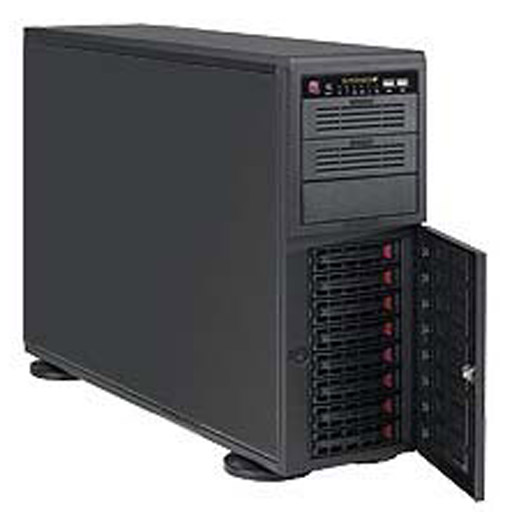 "Super Micro Tower 8x 3.5"" Bays SuperChassis 743AC-1200B-SQ Super Quiet"