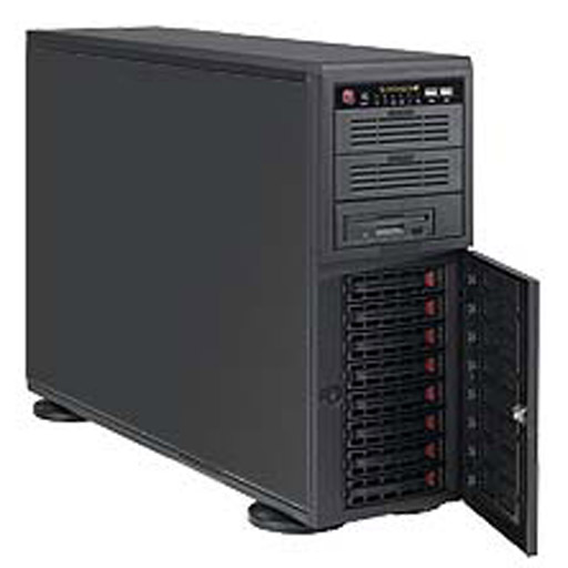 """Super Micro Tower 8x 3.5"""" Bays SuperChassis 743AC-668B"""