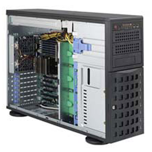 """Super Micro Tower 8x 3.5"""" Bays SuperChassis 745BAC-R1K28B2"""