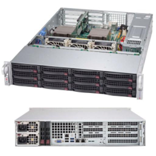 "Supermicro 2U 12x 3.5"" Bays SuperChassis 826BAC4-R1K23WB"
