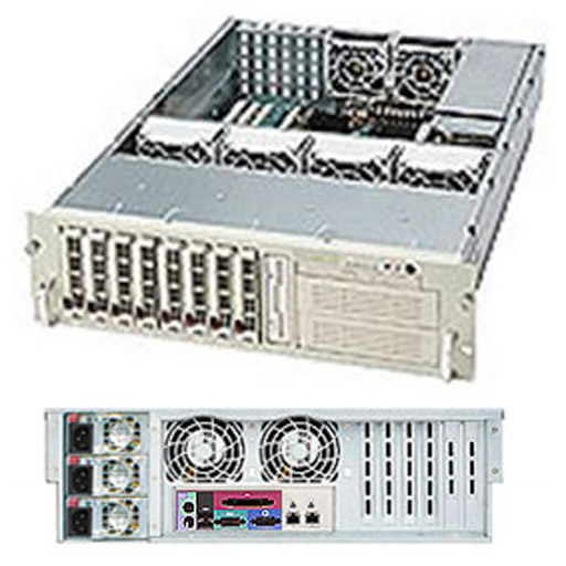 "Supermicro 2U 8x 3.5"" Bays SuperChassis 833T-R760"