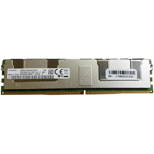 Samsung 64GB DDR4 LRDIMM 2400MHz Registered ECC 1.2 Volt