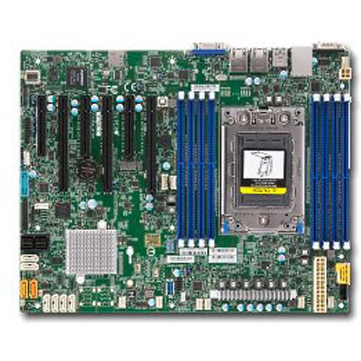 Supermicro Mainboard ATX 1x Socket SP3, 8x DDR4 max 1TB, 6x PCIe, IPMI, 2x GbE, 16x SATA, 1x M.2
