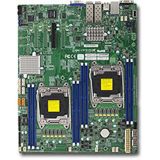 Supermicro Mainboard E-ATX 2x LGA2011-3, 8x DDR4 max 1TB, 1x PCIe, IPMI, 2x 10GbE, 6x SATA