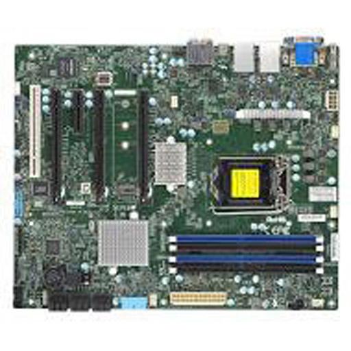 Supermicro Mainboard ATX 1x LGA1151, 4x DDR4 max 64GB, 4x PCIe, 1x PCI, IPMI, 2x GbE, 6x SATA
