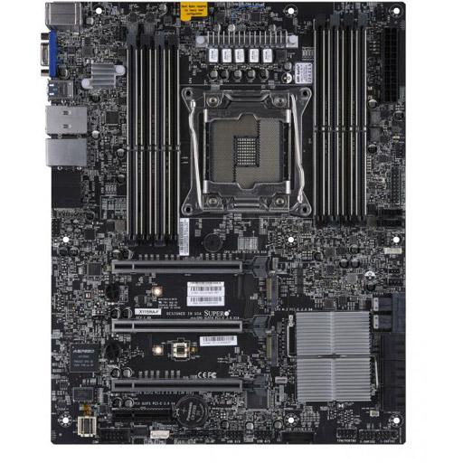 Supermicro Mainboard ATX 1x LGA2066, 8x DDR4 max 512GB, 4x PCIe, IPMI, 2x GbE, 6x SATA, 1x M.2