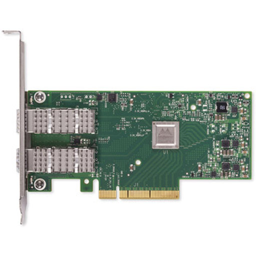 Mellanox ConnectX-4 Lx EN network interface card, 10GbE dual-port SFP28, PCIe3.0 x8, tall bracket
