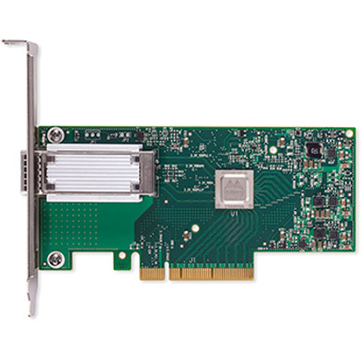 Mellanox ConnectX-4 Lx EN network interface card, 50GbE single-port QSFP28, PCIe3.0 x8, tall bracket