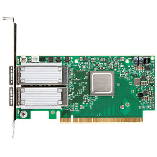 Mellanox ConnectX-5 EN network interface card, 50GbE single-port QSFP28, PCIe3.0 x16, tall bracket