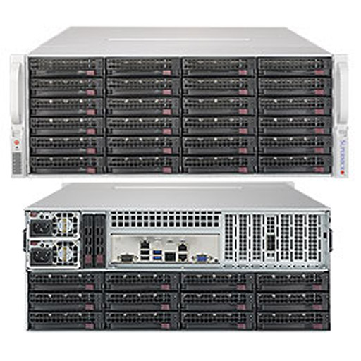 "Supermicro 4U 36x 3.5"" Bays SuperStorage Barebone Server 5049P-E1CTR36L"