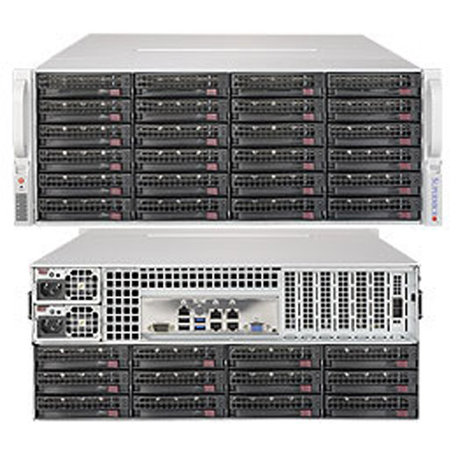 "Supermicro 4U 36x 3.5"" Bays SuperStorage Barebone Server 6048R-E1CR36N"
