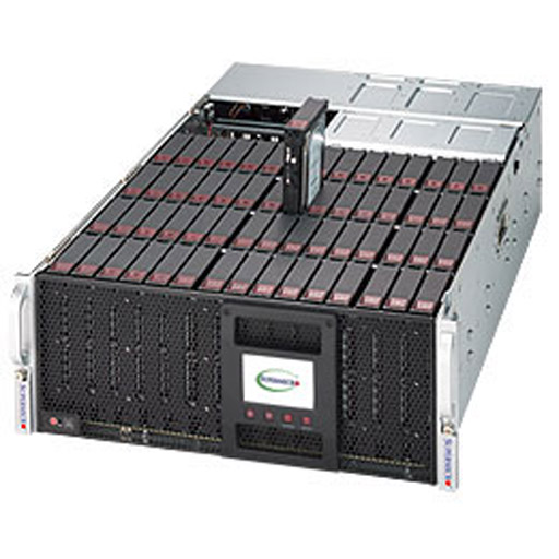 "Supermicro 4U 60x 3.5"" Bays SuperStorage Barebone Server 6048R-E1CR60L"