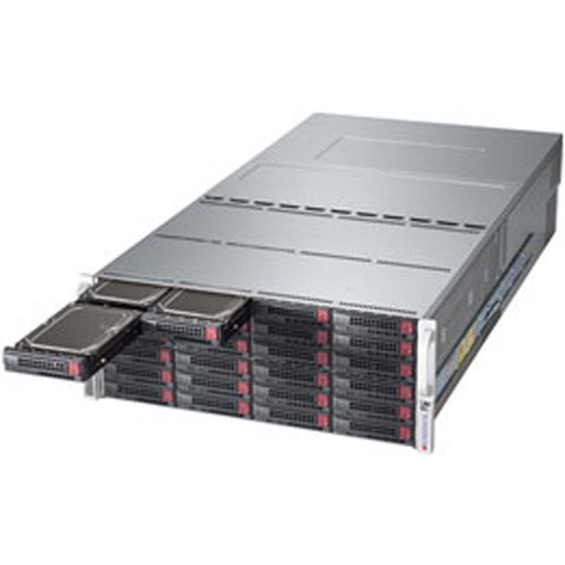 "Supermicro 4U 72x 3.5"" Bays SuperStorage Barebone Server 6048R-E1CR72L"