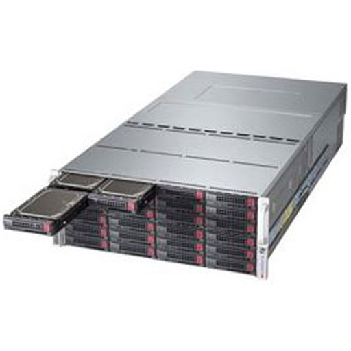 "Supermicro 4U 72x 3.5"" 6TB SATA HDDs Ceph OSD SuperStorage Server Node 6048R-OSD432 (Complete System Only)"