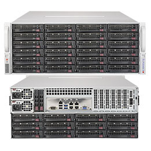 "Supermicro 4U 36x 3.5"" Bays SuperStorage Barebone Server 6049P-E1CR36L"