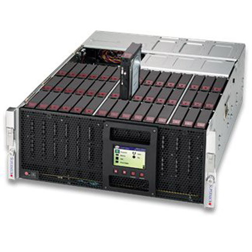 "Supermicro 4U 45x 3.5"" Bays SuperStorage Server 6049P-E1CR45L (Complete System Only)"