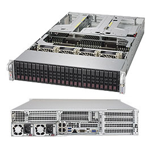 "Supermicro 2U 24x 2.5"" Bays SuperServer 2048U-RTR4 (Complete System Only)"