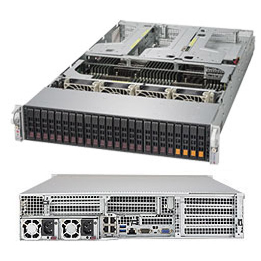 "Supermicro 2U 24x 2.5"" Bays SuperServer 2049U-TR4 (Complete System Only)"