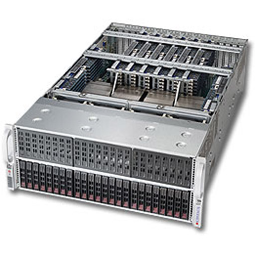 "Supermicro 4U 24x 2.5"" Bays SuperServer 4048B-TR4FT (Complete System Only)"