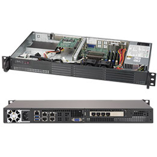 "Supermicro 1U 2x 3.5"" Fixed Drive Bays SuperServer 5019A-12TN4"
