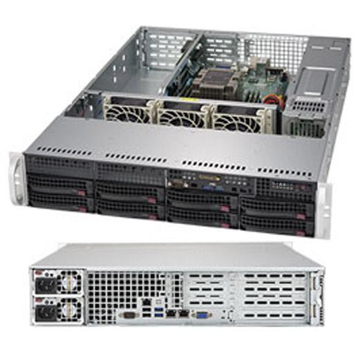 "Supermicro 2U 8x 3.5"" Bays SuperServer Barebone 5029P-WTR"
