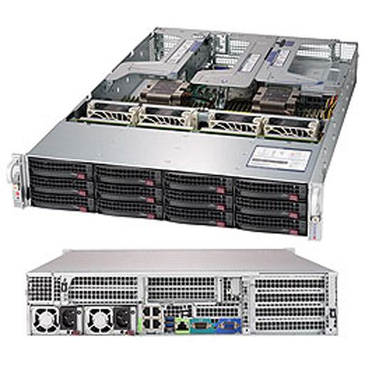 "Supermicro 2U 12x 3.5"" Bays SuperServer 6029U-E1CR4 (Complete System Only)"