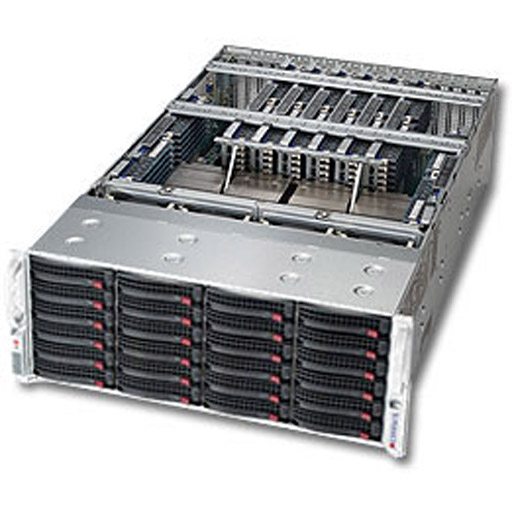 "Supermicro 4U 24x 3.5"" Bays SuperServer 8048B-TR4FT (Complete System Only)"