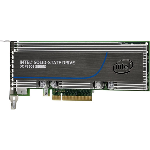 Intel Solid-State Drive DC P3608 Series - solid state drive - 4 TB - PCI Express 3.0 x8 (NVMe)