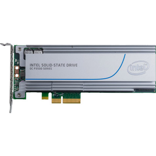 Intel Solid-State Drive DC P3500 Series - solid state drive - 1.2 TB - PCI Express 3.0 x4 (NVMe)