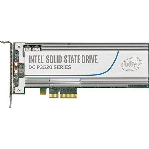 Intel DC P3520 2 TB Internal Solid State Drive - PCI Express - Plug-in Card - 1.66 GB/s Maximum Read Transfer Rate - 1.32 GB/s Maximum Write Transfer Rate - 1 Pack - 256-bit Encryption Standard