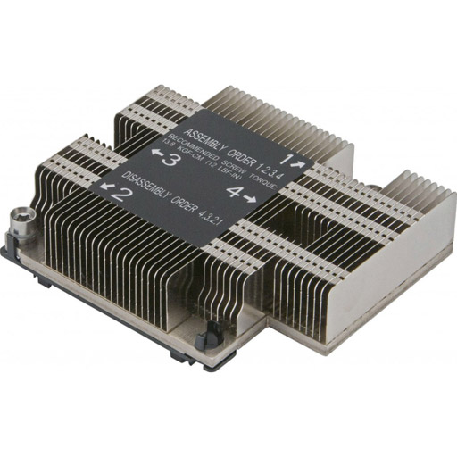 Supermicro 1U, Passive CPU Heat Sink Socket LGA3647-0