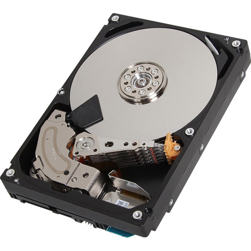 Toshiba Enterprise HDD 2TB 512e 7200RPM 128MB 3.5inch SAS