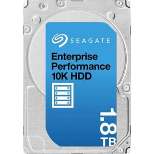 Seagate Enterprise Performance Enhanced HDD 1.8TB 4Kn 10000RPM 128MB 2.5inch SAS